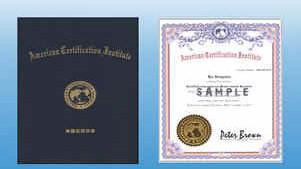 ACI国际注册高级礼仪培训师证书(样